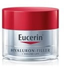 Кремообразна текстура на Eucerin Volume-Filler Нощен крем
