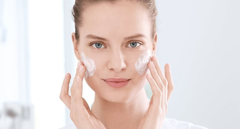 Acne skin care routine and acne care products
